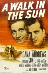 A Walk in the Sun 1945 DVD - Dana Andrews / Richard Conte